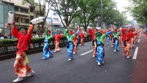 「明治神宮奉納 原宿表参道元氣祭スーパーよさこい2015」(上)(23)