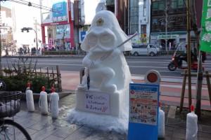 「第15回 神田小川町雪だるまフェア」11