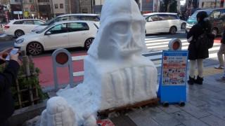 様々な雪だるまが楽しめた「第15回 神田小川町雪だるまフェア」