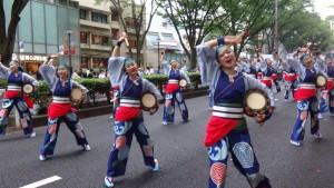 「明治神宮奉納 原宿表参道元氣祭スーパーよさこい2015」(上)(1)