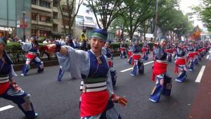 「明治神宮奉納 原宿表参道元氣祭スーパーよさこい2015」(上)(2)