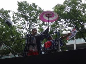 「明治神宮奉納 原宿表参道元氣祭スーパーよさこい2015」(上)(4)