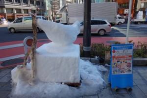「第15回 神田小川町雪だるまフェア」2