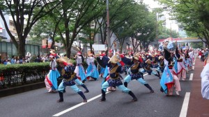 「明治神宮奉納 原宿表参道元氣祭スーパーよさこい2015」(上)(5)