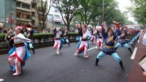 「明治神宮奉納 原宿表参道元氣祭スーパーよさこい2015」(上)(6)