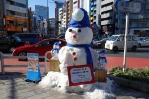 「第15回 神田小川町雪だるまフェア」4