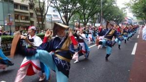 「明治神宮奉納 原宿表参道元氣祭スーパーよさこい2015」(上)(7)