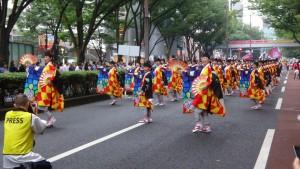 「明治神宮奉納 原宿表参道元氣祭スーパーよさこい2015」(上)(9)