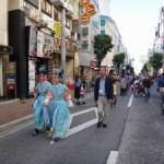様々な大道芸の演出が楽しめた「世田谷アートタウン2014『三茶de大道芸』」