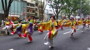 「明治神宮奉納 原宿表参道元氣祭スーパーよさこい2015」(上)(12)