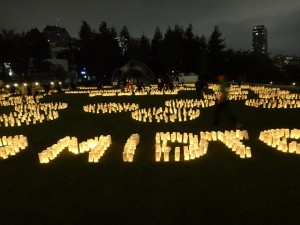 「和紙キャンドルガーデン -TOHOKU 2015-」(6)