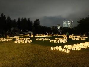「和紙キャンドルガーデン -TOHOKU 2015-」(9)