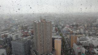 タワーホール船堀の展望台からの景色を倍速に!~天気悪い編~