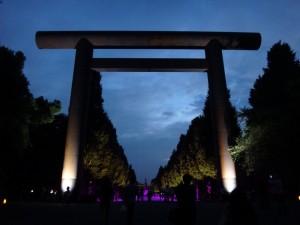 「靖国神社 秋の夜長参拝 みらいとてらす―秋を彩る九段の光―」(上)(7)