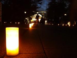 「靖国神社 秋の夜長参拝 みらいとてらす―秋を彩る九段の光―」(上)(16)