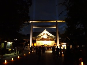 「靖国神社 秋の夜長参拝 みらいとてらす―秋を彩る九段の光―」(上)(18)