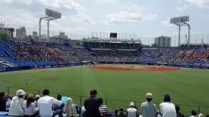 2016春季リーグ戦「東京六大学野球~法政 VS 早稲田~」20