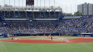2016春季リーグ戦「東京六大学野球~法政 VS 早稲田~」3