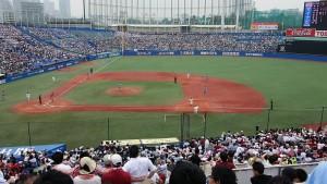 東京六大学野球春季リーグ戦「早慶戦」1