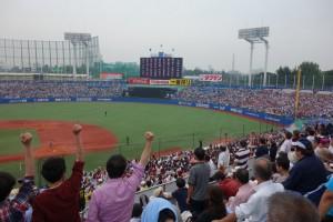 東京六大学野球春季リーグ戦「早慶戦」4