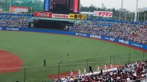東京六大学野球春季リーグ戦「早慶戦」8