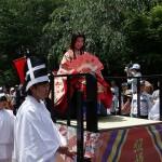 総勢100名ものボリュームのある照姫行列が楽しめた、「第29回 照姫まつり」