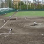 一方的な展開だった、秋季東京都高等学校野球大会「淵江 - 城西大城西」