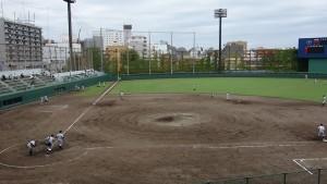 秋季東京都高等学校野球大会「堀越 - 目白研心」3