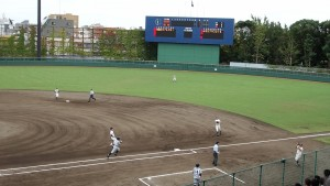 秋季東京都高等学校野球大会「堀越 - 目白研心」6