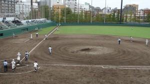 秋季東京都高等学校野球大会「堀越 - 目白研心」9