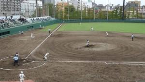 秋季東京都高等学校野球大会「堀越 - 目白研心」10