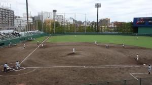 秋季東京都高等学校野球大会「堀越 - 目白研心」12