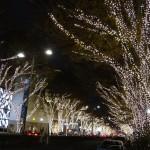 オシャレな雰囲気の表参道の「表参道イルミネーション」と「Omotesando Hills Christmas 2015」