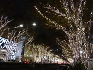 「表参道イルミネーション」と「Omotesando Hills Christmas 2015」2