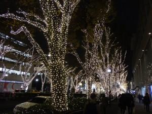 「表参道イルミネーション」と「Omotesando Hills Christmas 2015」3