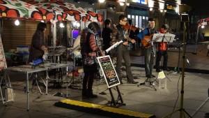 日本テレビ前で見かけた音楽イベント2