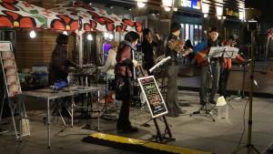 日本テレビ前で見かけた音楽イベント1