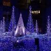 コンパクトでいい感じなイルミネーション演出が楽しめた、「カノン・ダジュール~青い精霊の森~」