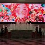噴水と演出の融合が楽しめた、「Colorfulu CHRISTMAS SHOW」
