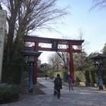 かつては城塞があったとされる「本郷城」~根津神社~