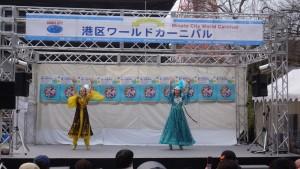 「港区ワールドカーニバル in 増上寺」4