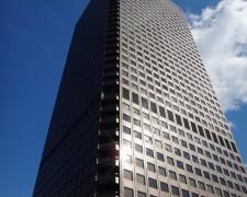 落ち着いた雰囲気で、ゆっくりと景色を堪能できる、世界貿易センタービルの展望台