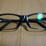 ブルーライト用メガネを買いました。