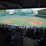 2つのポイントが楽しめる球場で観戦ができた、春季東京都高等学校野球大会「都立城東vs創価」