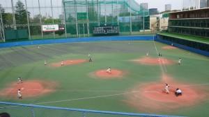 春季東京都高等学校野球大会「都立城東vs創価」9