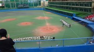 春季東京都高等学校野球大会「都立城東vs創価」11