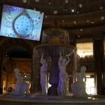 ヨーロッパ風の雰囲気にプロジェクションマッピングが楽しめた、VenusFort Christmas Projection Maping & SHOW 2016「FROZEN」