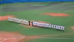 2016東京都高校野球大会「閉会式」を見てきました。3