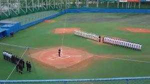 2016東京都高校野球大会「閉会式」を見てきました。6