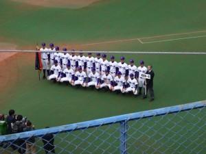 2016東京都高校野球大会「閉会式」を見てきました。7